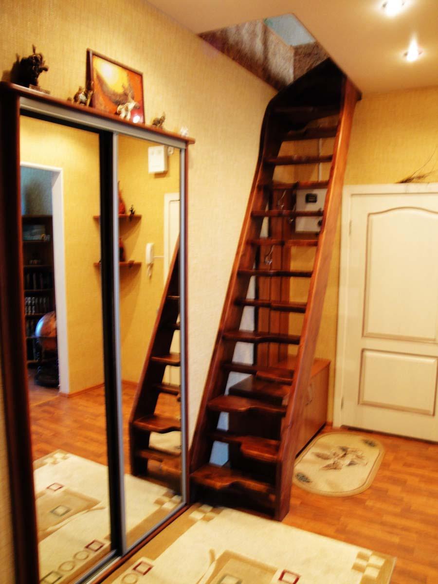 Раскладные лестницы на чердак в частном доме - Зеленый Дачник 24