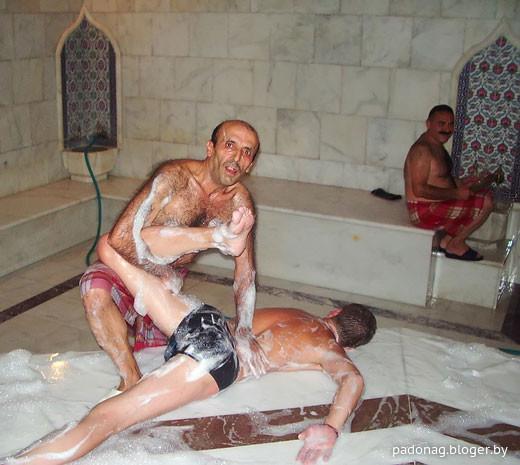 секс в турецкоц бане