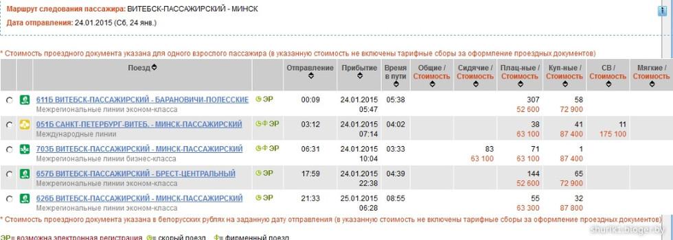 поезд полоцк минск наличие свободных мест вакансии экономиста Новокузнецке