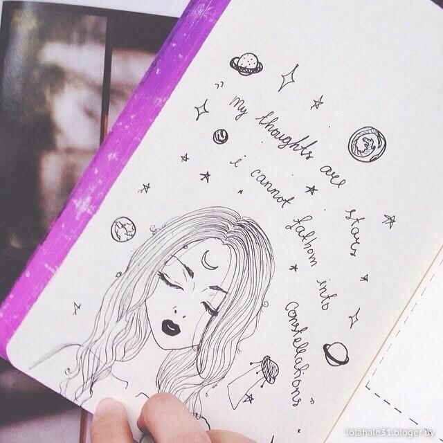 Как сделать космос для личного дневника видео - Val-spb.ru