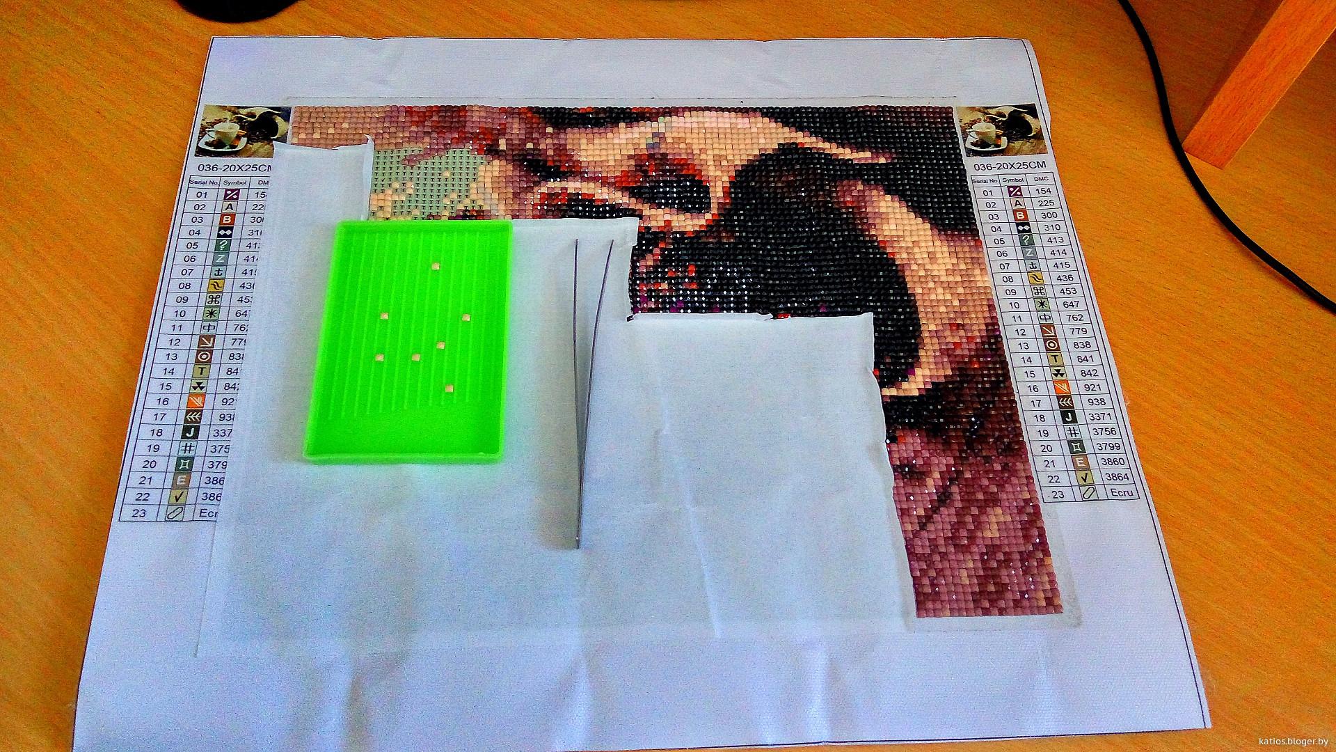 Эксклюзивная алмазная мозаика - изготовленная по Вашему эскизу (фото) 39