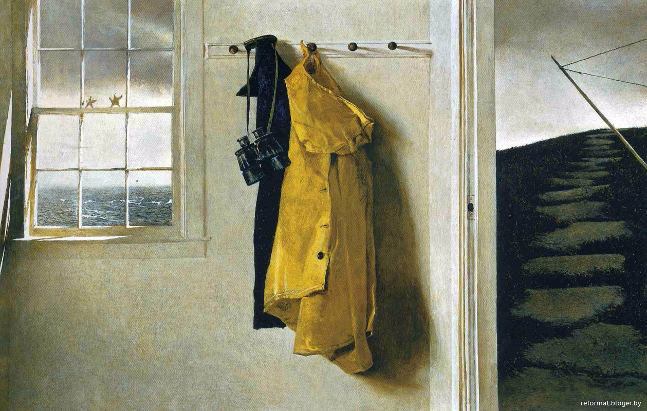 andrew wyeths the blue door The olsons were neighbours of the wyeths, so andrew painted three of the olson children at different points in his life christina olson became one famous subject, frozen in time in the renowned 1948 painting 'christina's world.